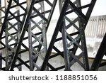 structure of victoria bridge.... | Shutterstock . vector #1188851056