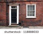 Old Classic Victorian Door And...