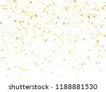 magic gold sparkle texture... | Shutterstock .eps vector #1188881530