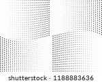 abstract halftone wave dotted... | Shutterstock .eps vector #1188883636
