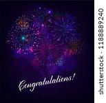 congratulation illustration...   Shutterstock .eps vector #1188889240