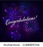 congratulation illustration...   Shutterstock .eps vector #1188889246