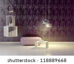 interior design of modern... | Shutterstock . vector #118889668