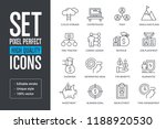 set pixel perfect high quality...   Shutterstock .eps vector #1188920530