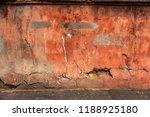 old art texture of plaster...   Shutterstock . vector #1188925180