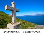 cross in finisterre end of... | Shutterstock . vector #1188940936