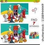 cartoon illustration of finding ... | Shutterstock .eps vector #1188944449