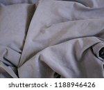 gray silk fabric background   Shutterstock . vector #1188946426