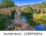 Cangas De Onis Roman Bridge On...