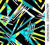 grunge urban seamless geometric ... | Shutterstock .eps vector #1188961789