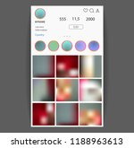 instagram concept. social media ...