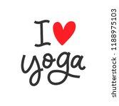 vector hand drawn motivational... | Shutterstock .eps vector #1188975103
