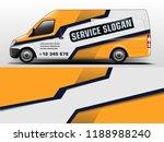 van wrap design. wrap  sticker... | Shutterstock .eps vector #1188988240