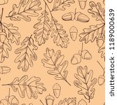 vector  seamless pattern with... | Shutterstock .eps vector #1189000639