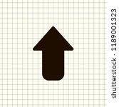 undo arrow icon  motion icon....   Shutterstock .eps vector #1189001323