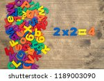 simple mathematic... | Shutterstock . vector #1189003090