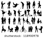 people | Shutterstock .eps vector #118900978