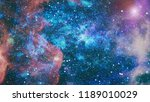planets  stars and galaxies in... | Shutterstock . vector #1189010029