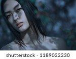 fashion art mystical spring... | Shutterstock . vector #1189022230