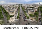 paris  france   may 13  2018... | Shutterstock . vector #1189027690