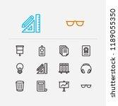 workspace icons set....