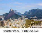 landscape of the cantagalo...   Shutterstock . vector #1189056763