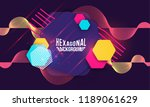abstract hipster technological... | Shutterstock .eps vector #1189061629