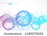 big data visualization... | Shutterstock .eps vector #1189070020
