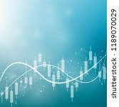 stock market or forex trading... | Shutterstock .eps vector #1189070029