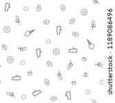 light blue vector seamless...   Shutterstock .eps vector #1189086496