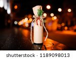 adorable christmas decorated... | Shutterstock . vector #1189098013