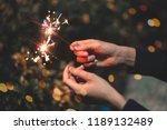 Female Play Fireworks