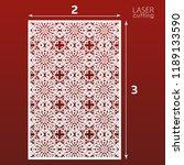laser cut ornamental panel...   Shutterstock .eps vector #1189133590