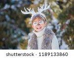 portrait of smiling cute boy...   Shutterstock . vector #1189133860