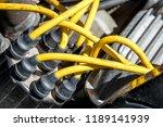 distributor cap and high... | Shutterstock . vector #1189141939