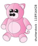 soft toy pig | Shutterstock . vector #118916428