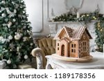 Gingerbread House In Living...
