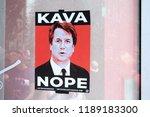 Anti Brett Kavanaugh Sign At...