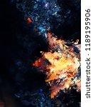 modern art. colorful... | Shutterstock . vector #1189195906