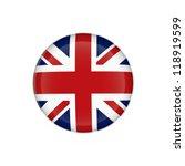 british flag union jack button... | Shutterstock . vector #118919599
