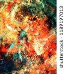 modern art. colorful... | Shutterstock . vector #1189197013