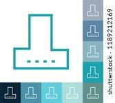 line icon  filled outline... | Shutterstock .eps vector #1189212169