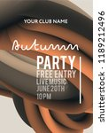 night party banner template for ...   Shutterstock .eps vector #1189212496