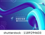 abstract gradient background... | Shutterstock .eps vector #1189294603