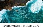 aerial drone scenic adventure...   Shutterstock . vector #1189317679