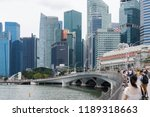 singapore  singapore  ... | Shutterstock . vector #1189318663