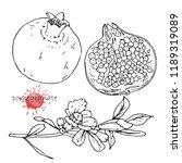 hand drawn illustration of...   Shutterstock .eps vector #1189319089