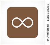 infinity vector icon 10 eps | Shutterstock .eps vector #1189325389