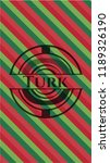 turk christmas colors style... | Shutterstock .eps vector #1189326190