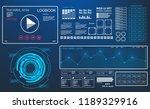 futuristic hud music dashboard...